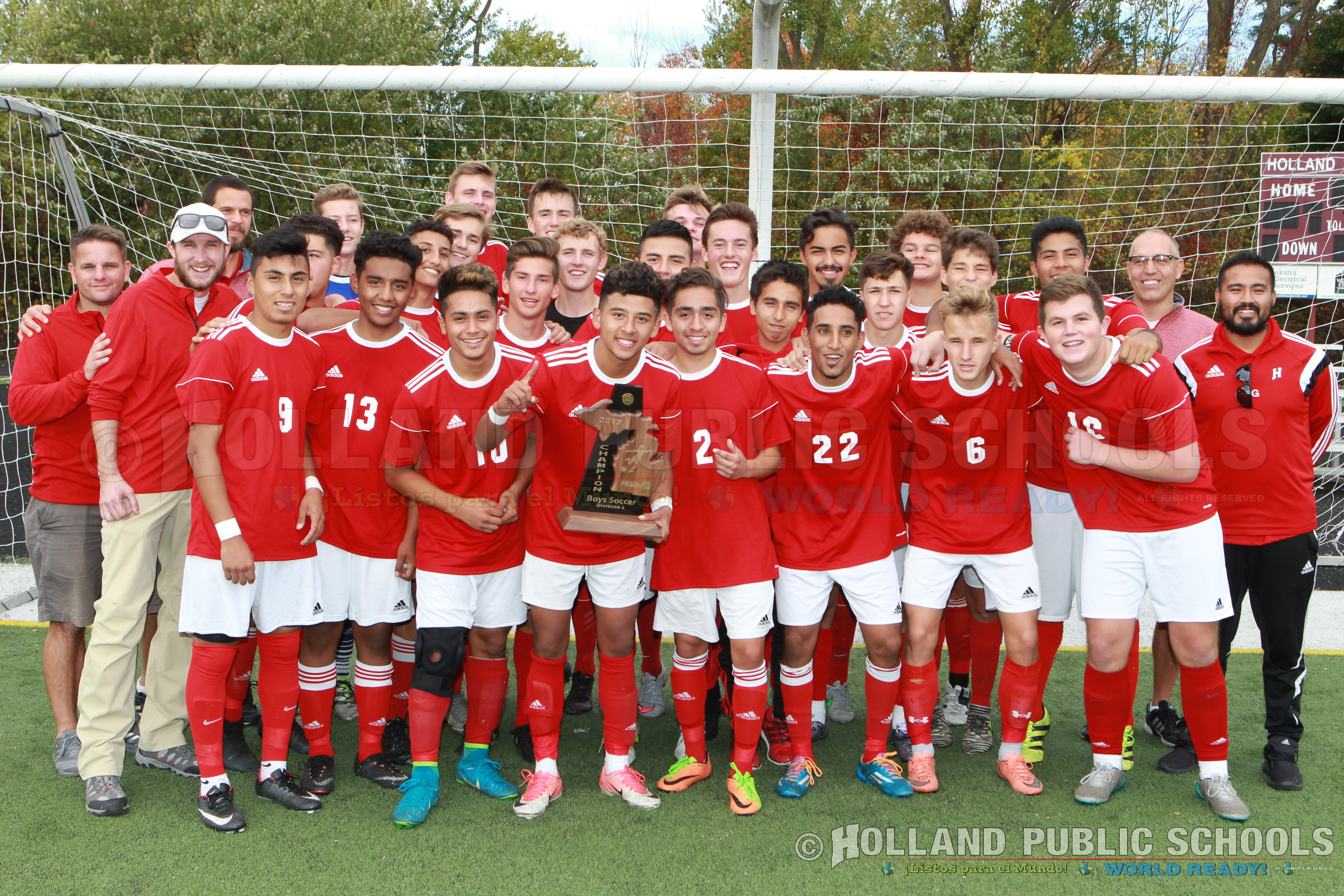 Hps home congratulations to holland high schools boys varsity soccer team on winning the 2017 michigan high school athletic associations mhsaa division 2 boys sciox Choice Image